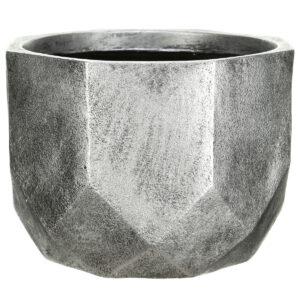 Настольный горшок для цветов Idealist Lite Геометри, круглый, бронзовый, Д23 В17 см, 7 л
