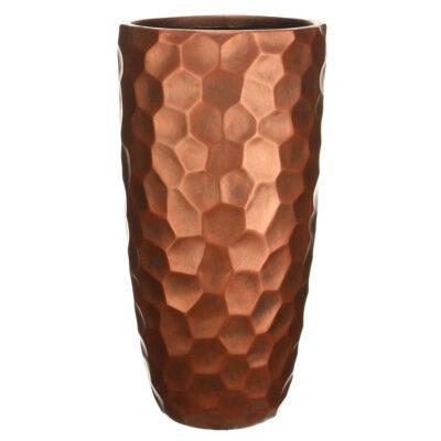 Напольный горшок для цветов Idealist Lite Мозаик, серебряный, Д31.5 В61 см, 47 л