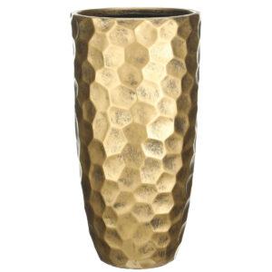 Напольный горшок для цветов Idealist Lite Мозаик, серебряный, Д41.5 В77 см, 104 л
