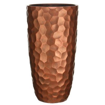 Напольный горшок для цветов Idealist Lite Мозаик, золотой, Д41.5 В77 см, 104 л