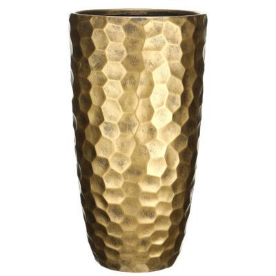 Напольный горшок для цветов Idealist Lite Мозаик, бронзовый, Д31.5 В61 см, 47 л