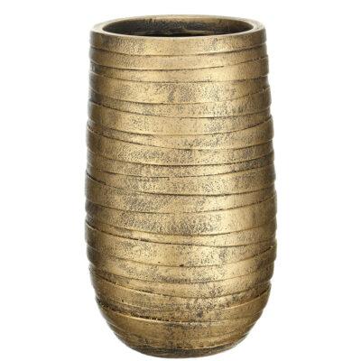 Напольный горшок для цветов Idealist Lite Роу, золотой, Д26.5 В45 см, 24 л