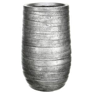 Напольный горшок для цветов Idealist Lite Роу, бронзовый, Д26.5 В45 см, 24 л