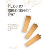 Напольное кашпо для цветов Idealist Lite Плейт, круглое, бежевое, Д44 В55 см, 59.6 л