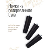 Напольное кашпо для цветов Idealist Lite Конкрит, золотистое, Д30 В43 см, 16 л