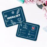 Напольное кашпо для цветов Idealist Lite Крисмас, круглое, серебристое, Д32 В50 см, 40.2 л