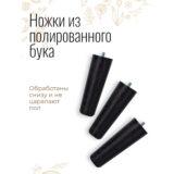 Напольное кашпо для цветов Idealist Lite Страйп, золотистое, Д31.5 В43 см, 21.2 л