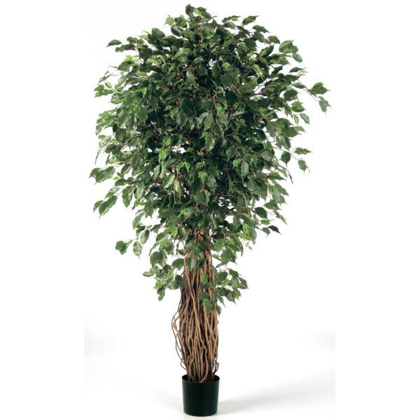 Искусственное растение Фикус Бенджамина Лиана де Люкс, высота 150 см