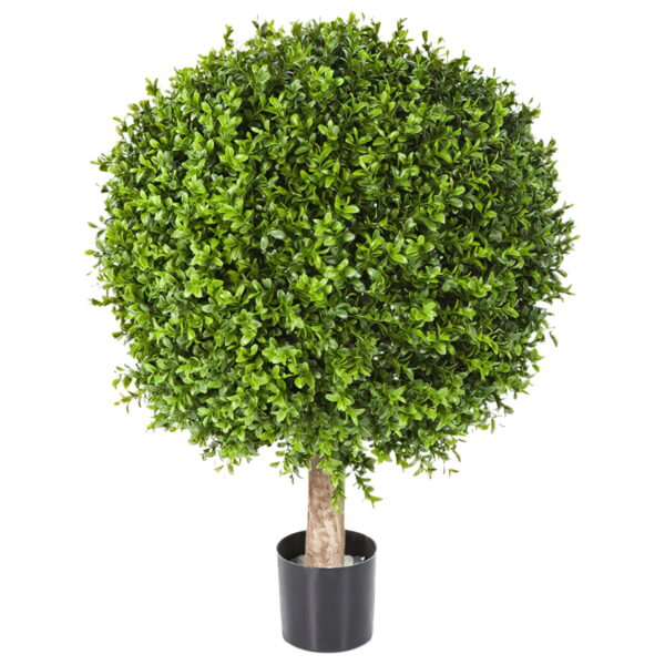 Искусственное растение Самшит, шар на стволе, высота 65 см